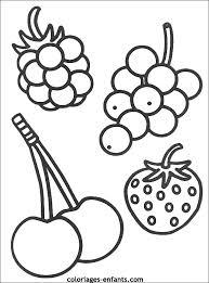coloriage fruit les beaux dessins de nature à imprimer et colorier