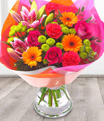 birthday boquets vibrant bouquet flowers are us belfast florist bouquets