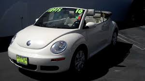 pink volkswagen beetle for sale used 2010 vw beetle convertible for sale stk 244et youtube