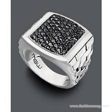 rings for men in pakistan designs of black sapphire rings for men 2014
