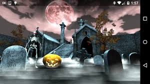 halloween cemetery wallpaper halloween graveyard 3d android apps on google play