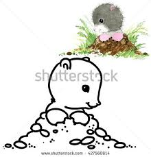 cartoon funny mole stock images royalty free images u0026 vectors