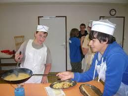 colonie cuisine colonie de vacances patisserie cuisine en montagne savoie