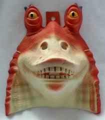 star wars jar jar bink halloween mask rubies pvc comic con