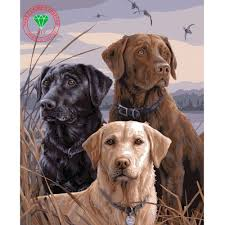 online get cheap cute dog painting aliexpress com alibaba group
