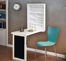 wall mounted pull down desk fold down desk table with wall cabinet and chalkboard white or