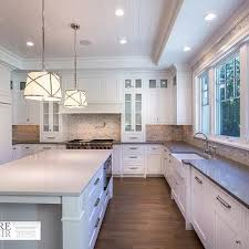 Brushed Nickel Knobs For Cabinets Kitchen Cabinets With Lights Transitional Kitchen Har