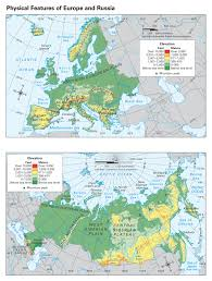 Russia Physical Map Physical Map by 2nd Quarter Mr Fuller U0027s Social Studies