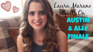 did laura marano really cut her hair laura marano spills on austin ally finale youtube