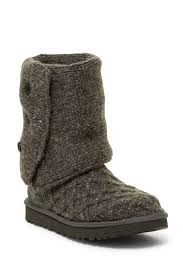 s cardy ugg boots grey ugg australia lattice cardy knit boot nordstrom rack