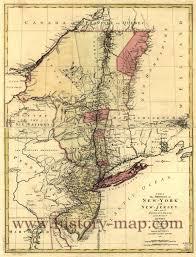 Colonial Map Colonial New York Map New York Map