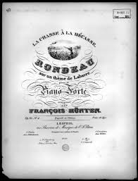 historic sheet music collection 1800 to 1922 leipzig library