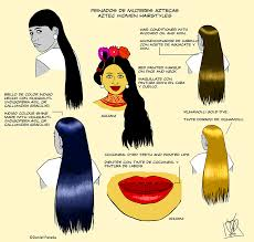 aztec hair style ancient aztec hairstyles women women s hairstyles in history