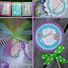 lollipop party favors and treats birthday party decorations fully assembled