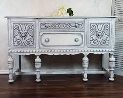 Antique White Buffet Server by Buffet And Sideboards Etsy