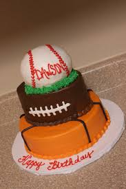 Cake Decoration Ideas At Home Interior Design Simple Sports Themed Cake Decorations Decorating