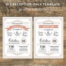 wedding reception invitations 21 beautiful at home wedding reception invitations destination