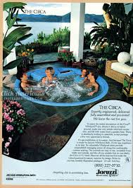 backyard spa circa tub from jacuzzi 1981 click americana