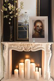 Bedroom Fireplace Ideas by Best 25 Candle Fireplace Ideas On Pinterest Fireplace With