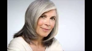 hairstyles for 60 year olds with gray youtube