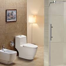 Elongated Comfort Height Toilet Woodbridgebath T 0019 Dual Flush Elongated One Piece Toilet With