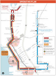Seattle Monorail Map by Downtown Streetcar Plans Would Make 1st Ave Stewart More