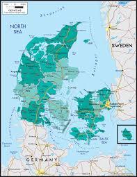 Map Of Denmark Map Of Denmark Laugavegur Trail Map Real Treasure Maps
