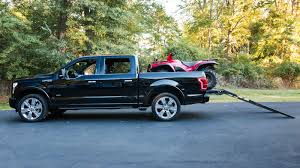 Ford F350 Ramp Truck - this expensive option on the 2016 ford f 150 is actually super neat