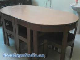 dining table with hidden chairs dining table with hidden chairs table with hidden chairs thelt co