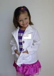 doc mcstuffins costume doc costume and 5 pcs doctor s coat shirt skirt
