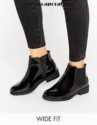s heeled boots canada black shoes look wide fit patent pu high ankle