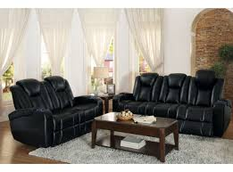 Double Reclining Sofa by Black Power Double Reclining Sofa