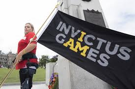 Canada Flag Bearer Invictus Games Flag Inspires In Victoria Sooke News Mirror