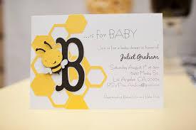 baby shower bee theme bee baby shower invitations gangcraft net