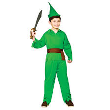 halloween costume robin robin hood lost boy boys book week fairytale fancy dress costume m xl
