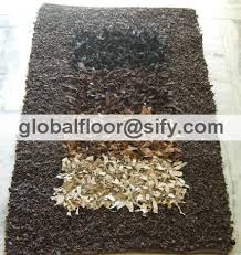 Leather Shag Rug Leather Shaggy Rugs Leather Shaggy Carpets Leather Shag Area Rug