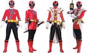 red samurai power ranger iterations kid stuff