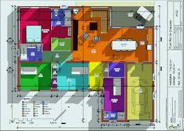 plan de maison en v plain pied 4 chambres plan maison en v lovely attractive plan de maison plain pied en v 0