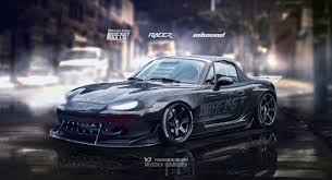 rocket bunny rx7 mazda mx5 rocket bunny by yasiddesign on deviantart
