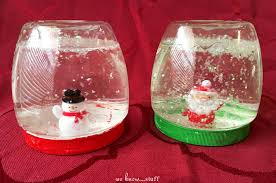 snow globes for plastic jars keep them from breaking