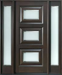 single front doors iron mahogany solid wood door design indian