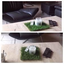 Tischdeko Esszimmertisch Rasen Auf Dem Tisch Dekoration Echt