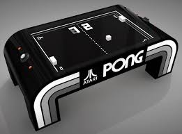 Air Hockey Coffee Table Table Pong Project Brings Classic Atari To The Real World