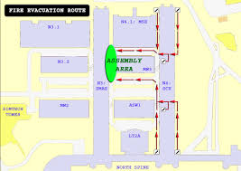 Fire Evacuation Route Plan by Fire Emergency Assembly Jpg