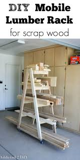 Wooden Storage Shelf Designs by Best 25 Lumber Storage Ideas On Pinterest Wood Storage Rack