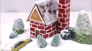 diy miniature snow house diy dollhouse diy miniature house with