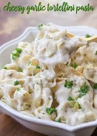 cheesy garlic tortellini pasta lil u0027 luna