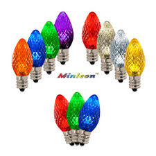 what is the difference between c7 and c9 lights led c7 led c9 bulbs commercial grade led christmas lights c7
