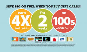 buy gift cards 4x fuel points when you buy gift cards 50 kroger gift card