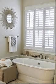Bathroom Window Curtain Ideas Master Bath Design Ideas Red Fur Sectional Rug Brown Finish